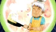 Cooking Elfman in Natsu's imagination