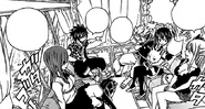 Team Natsu Travels Home from Crocus