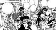 Team Natsu Travels Home from Crocus