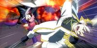 Natsu Dragneel & Lucy Heartfilia vs. Hughes & Byro