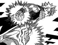 Jackal Places his Curse on Natsu
