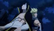Sting and Rogue reunite