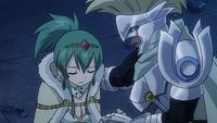 Arcadios looks after Hisui