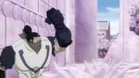 Doriate punches Natsu