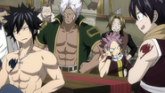Natsu and Gray don't get along after all