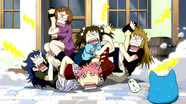 File:Natsu gets beat up by angry fangirls.jpg