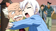 Lisanna welcome with Master