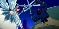 Erza Scarlet & Lucy Heartfilia vs. Daphne's Lizardmen