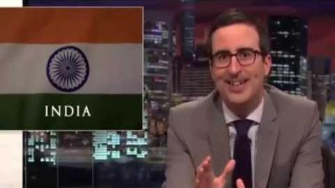 Last Week Tonight with John Oliver - INDIA Porn Ban