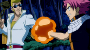 Natsu and Sugarboy stick together