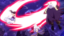 Eclipse King attacks the Mages