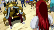 Erza and Laxus