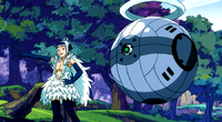 Aries force Caelum to attack Loke and Aries