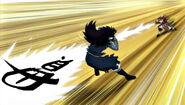 Yomazu attacks with Kan