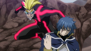 Jellal's battle begins