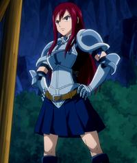 Erza new armor