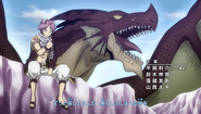 Natsu and Igneel in Opening 19