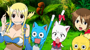 Lucy protects the others