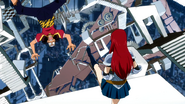 Thibault kicked out by Erza
