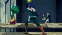 Mary stops Guttman from attacking Natsu and Coco