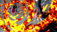 Natsu defeated Jackpot
