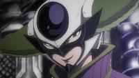 Kyôka asks of Grimorie's demands