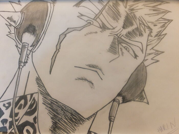 Fanart of Laxus Dreyar by ~~Lord Zeref~~
