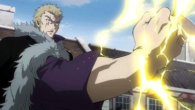 Laxus appears