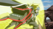 Jellal attacks Racer