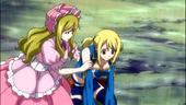 Lucy having a bad feeling