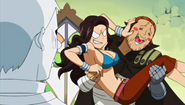 Gildarts carrying Cana