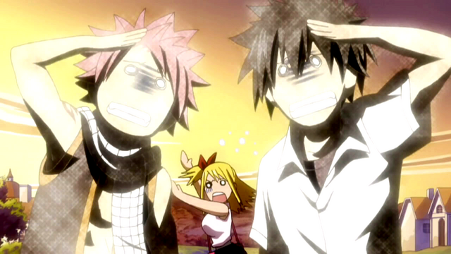 File:Natsu and Gray's reaction to Lucy's Garden.png