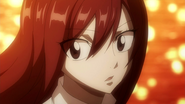 Erza's reaction to Jellal's appearance