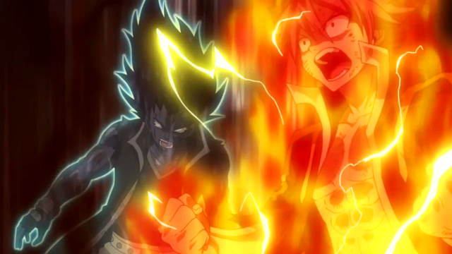 File:Natsu and Gajeel activate their modes.png