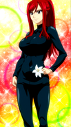 Jiggle Butt Erza World is Wonderful