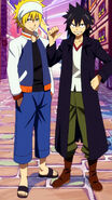 Memory Days - Natsu and Gray's disguises