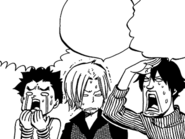 Max and Warren watch Makarov throwing Natsu