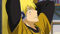 Young Laxus in the 3rd OVA