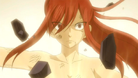 Erza activates Second Origin