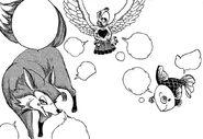 Mira Transforms into a fish fox and bird