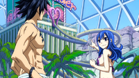 Juvia proposes a ride at LoveLove Slider