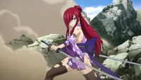 Erza withstands Yagdo Rigora