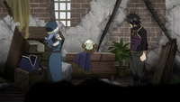 Gray and Juvia report to Makarov