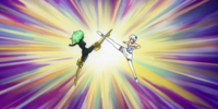 Yukino Agria vs. Libra (Eclipse)