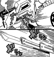 Hiroshi's extendible blade