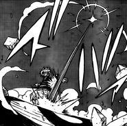 White Shadow Sword Horn