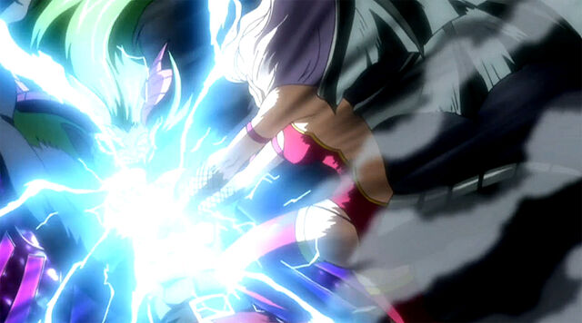 File:Mirajane using Evil Spark on Freed.jpg