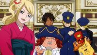 Blue Pegasus Wants Yukino to Join Them