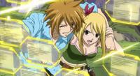 Hibiki Protects Lucy