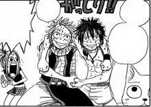 Luffy vs natsu jeux